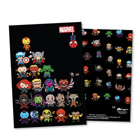 Marvel Kawaii Heroes Notebook