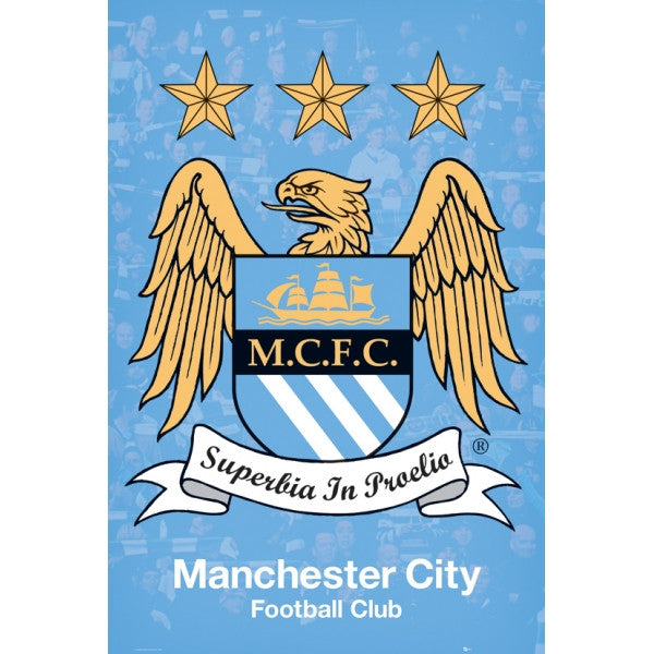 Manchester City - Maxi Poster - www.entertainmentstore.in