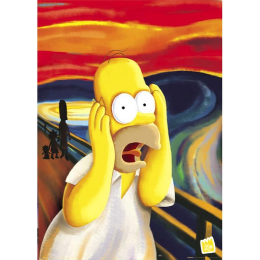 The Simpsons Scream Maxi Poster