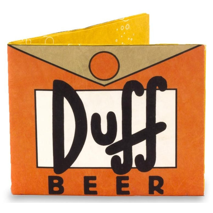 Simpsons Duff Mighty Wallet