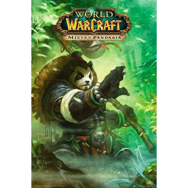 World Of Warcraft Panda Maxi Poster