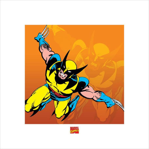 Wolverine Marvel Comics Art Print