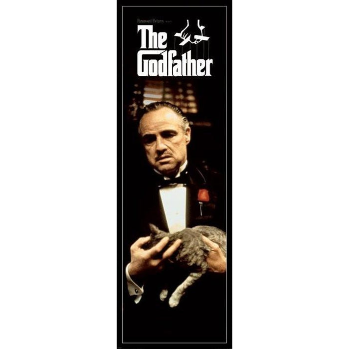 The Godfather Cat Door Poster
