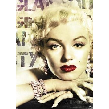 Marilyn Monroe (Glamour Colour) Giant Poster - www.entertainmentstore.in