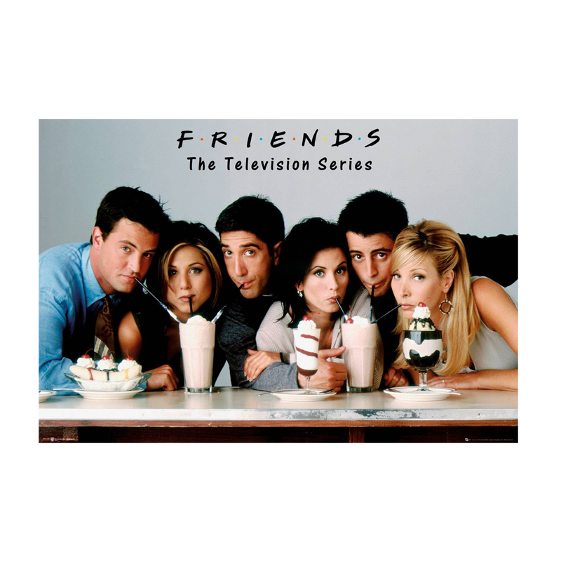 Friends Milkshake Maxi Poster - www.entertainmentstore.in