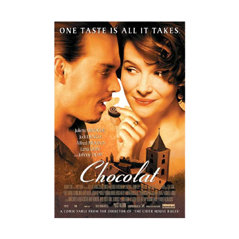 Chocolat One Sheet Maxi Poster - www.entertainmentstore.in