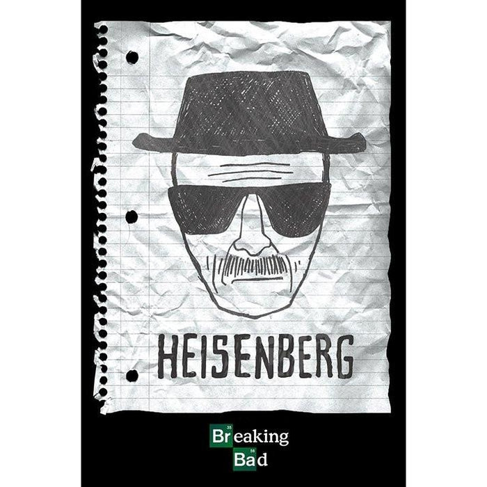 Breaking Bad Heisenberg Wanted Maxi Poster