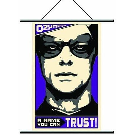 "Watchmen Wall Scroll ""Ozymandias Pop Art"" Fabric Poster"