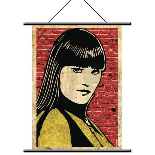 "Watchmen Wall Scroll ""Silk Spectre pop Art"" Fabric Poster"