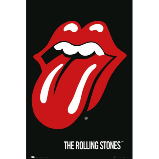 The Rolling Stones Lips Bravado Maxi Poster