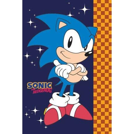 Sonic The Hedgehog Stars Maxi Poster - www.entertainmentstore.in