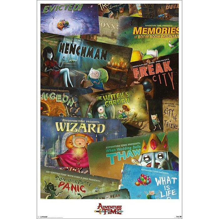Adventure Time Episodes Maxi Poster