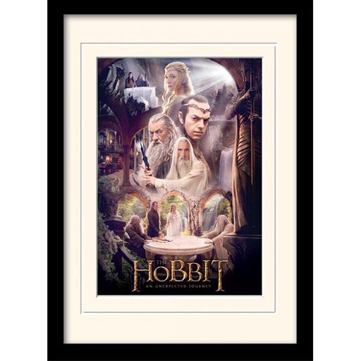 The Hobbit White Council Framed Print