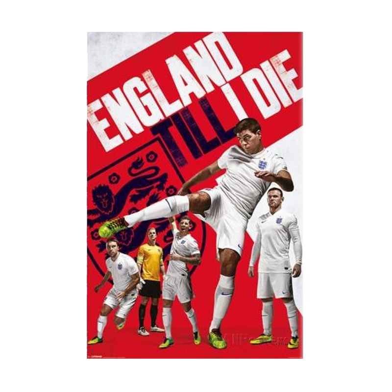 England Till I Die World Cup 2014 Maxi Poster - www.entertainmentstore.in