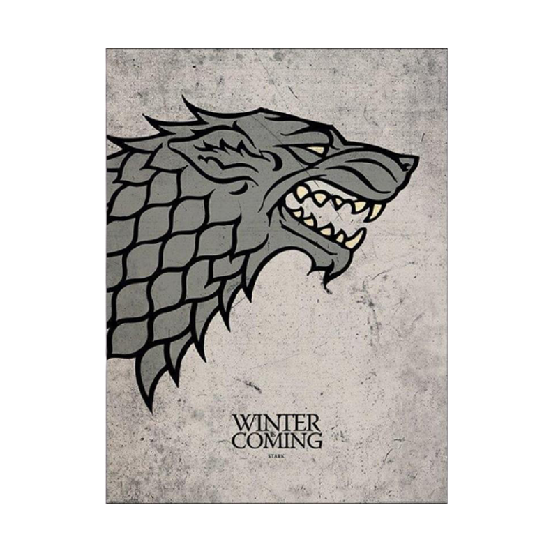 Game Of Thrones Stark Artprint - www.entertainmentstore.in