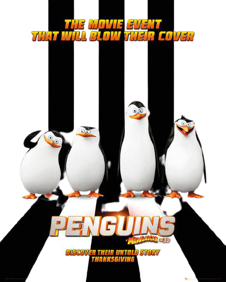 Penguins of Madagascar Mini One Sheet Poster - www.entertainmentstore.in