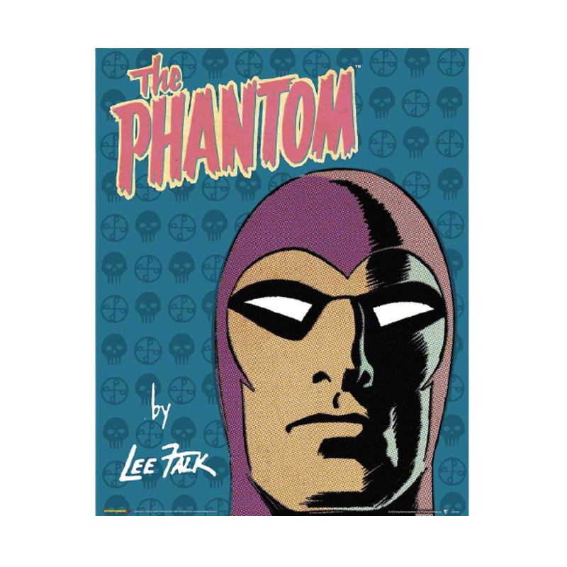 Phantom By Lee Falk Mini Poster - www.entertainmentstore.in