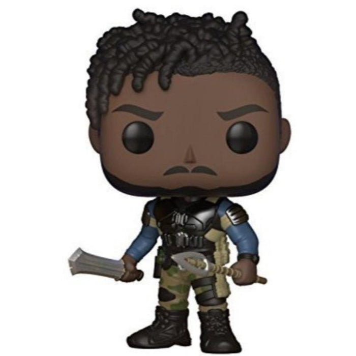 Funko Pop Black Panther Erik Killmonger Bobble Head