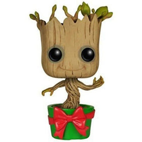 Funko Pop Guardians of the Galaxy Holiday Dancing Groot Bobble Head