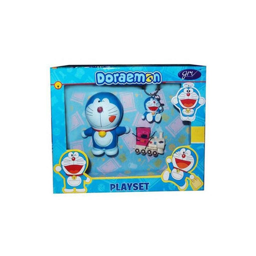 Doraemon Figurine With Keychain