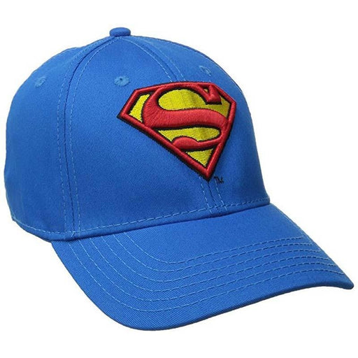 Superman Logo Royal Blue Cap
