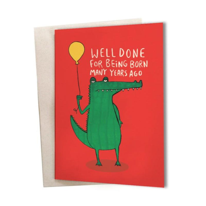 Birthday Card Well Done Greeting Card