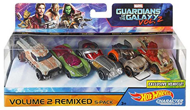 Guardians Of The Galaxy Vol 2Remixed 5 Pack Vehicle
