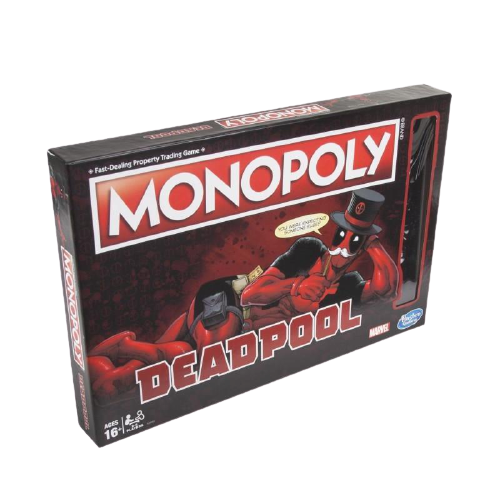 Monopoly Game Marvel Deadpool Edition - www.entertainmentstore.in