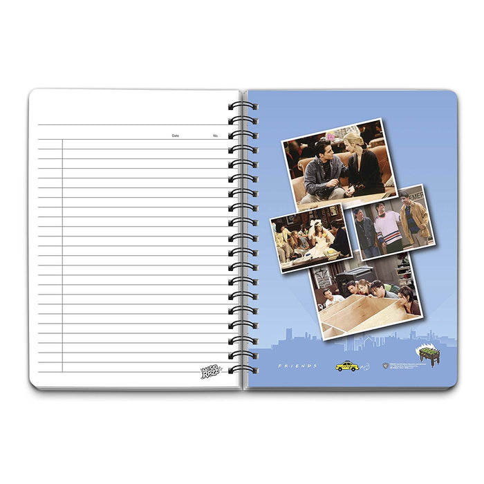 Friends Infographic Notebook