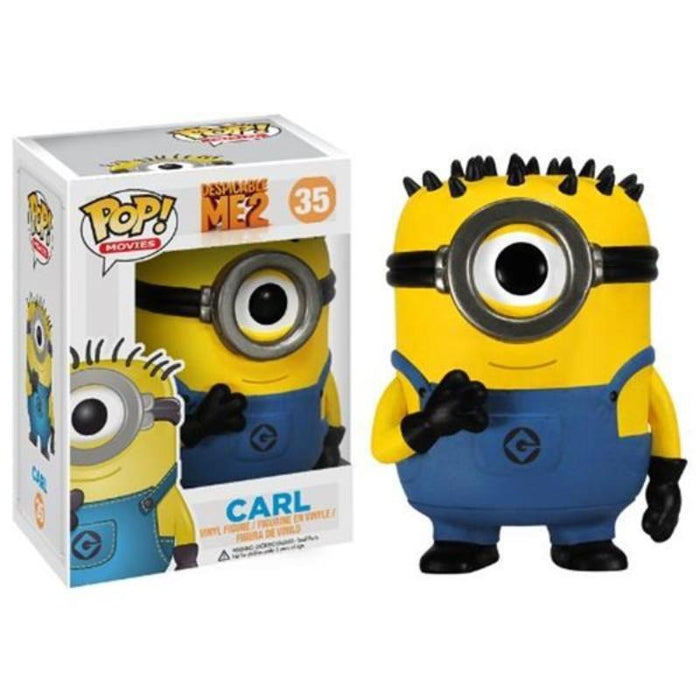 Despicable Me 2 Carl Minionpop Figure