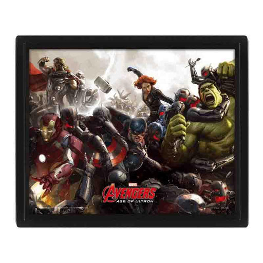Avengers Age Of Ultron Battle3D Lenticular Poster