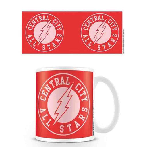 The Flash Central City All StaRs Coffee Mug