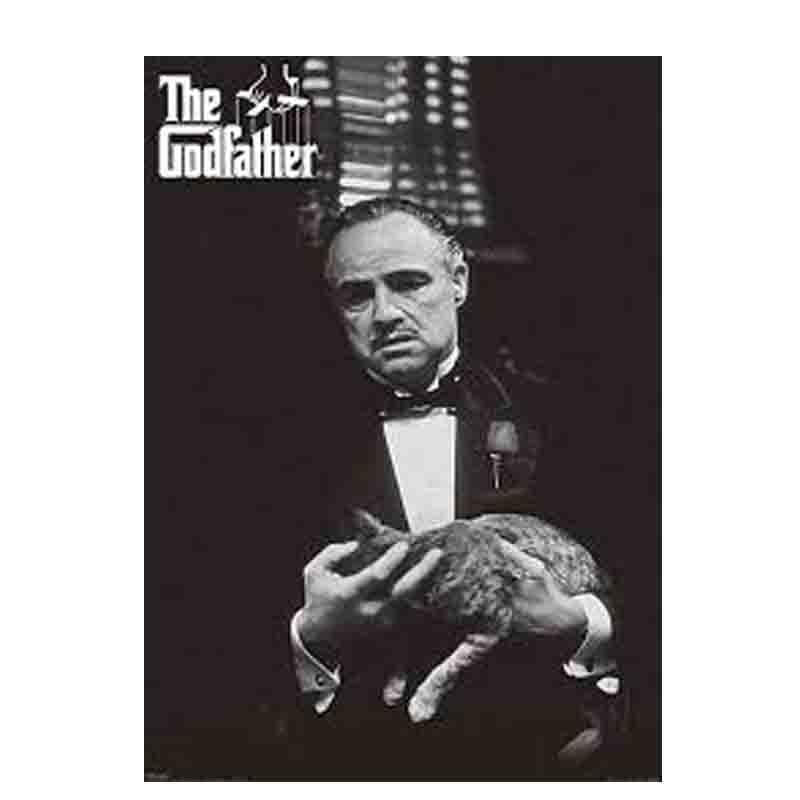 Godfather Cat B & W Maxi Poster - www.entertainmentstore.in