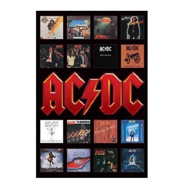 Ac/Dc Album Covers MaxiPoster