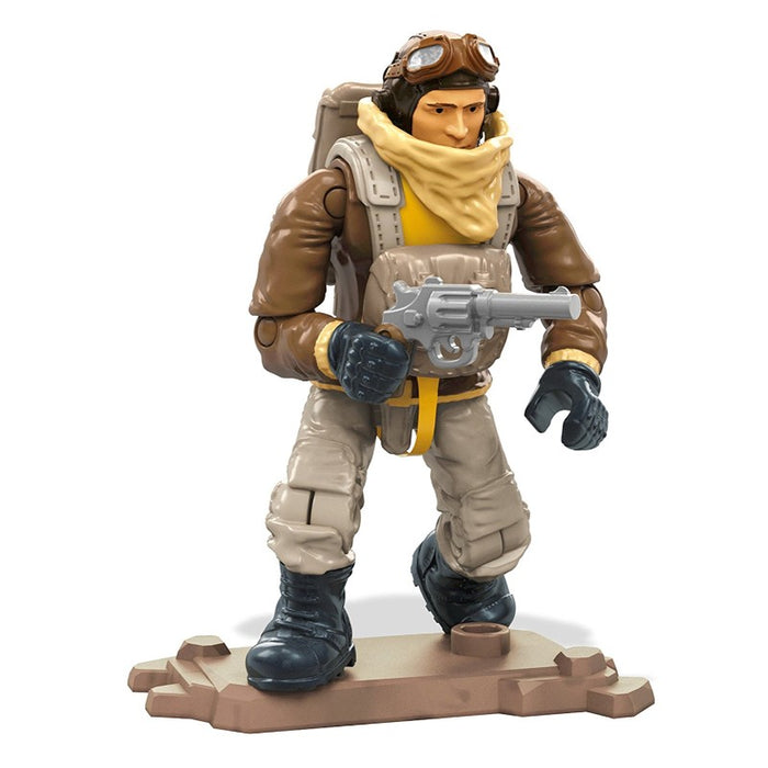 Mega Construx Call of Duty WW2 Pilot Building Set