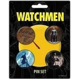Watchmen Behind You Badge Pack