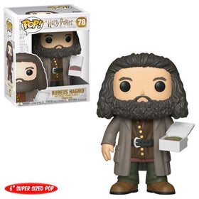 Harry Potter Rubeus Hagrid With Cake Pop Figure