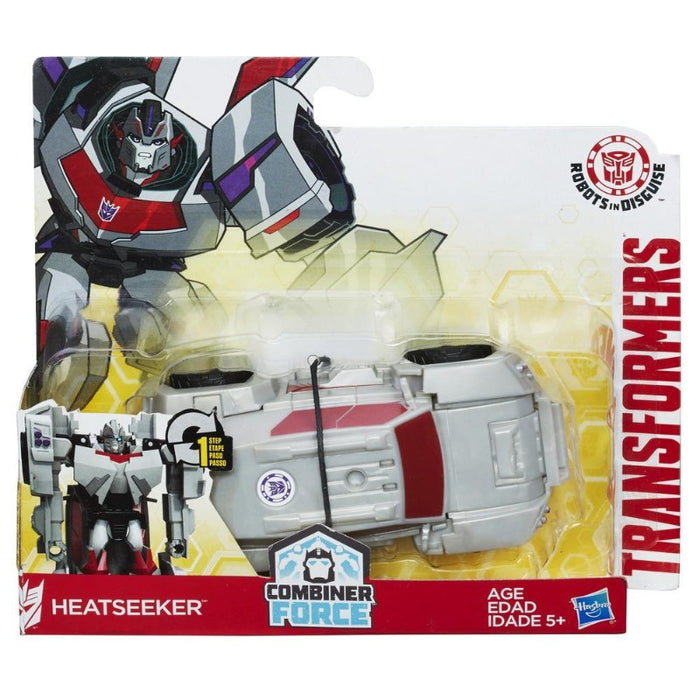 Transformers Robots in Disguise Combiner Force 1-Step Changer Heatseeker Action Figure