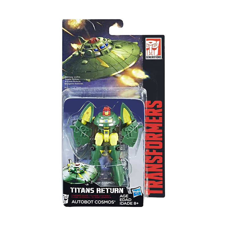 Transformers Generations Titans Return Legends Class Autobot Cosmos Action figures - www.entertainmentstore.in