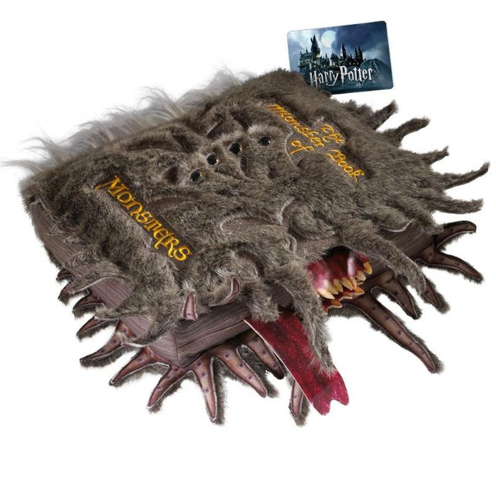 Harry Potter Collectors The Monster Book of Monsters Plush
