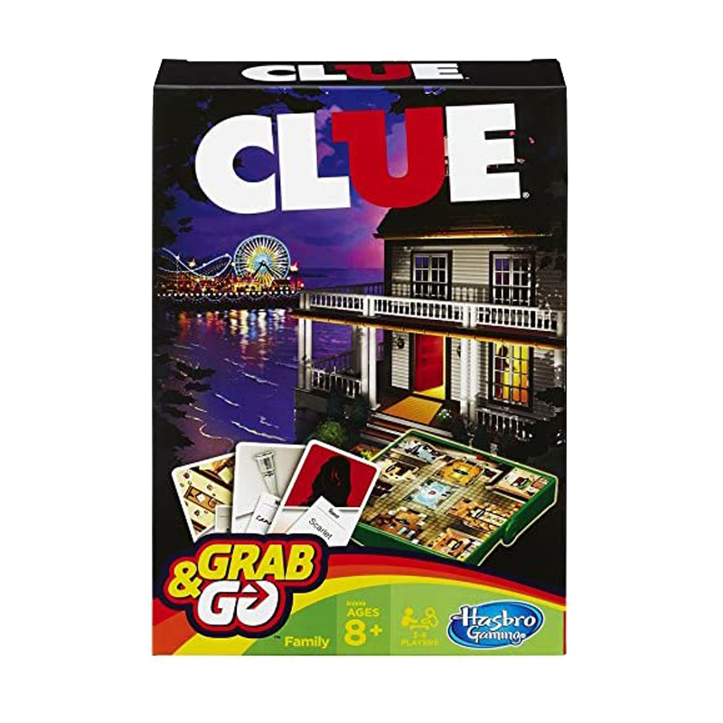 Clue Grab & Go Game - www.entertainmentstore.in