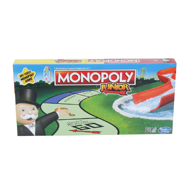 Monopoly Junior Card Game - www.entertainmentstore.in
