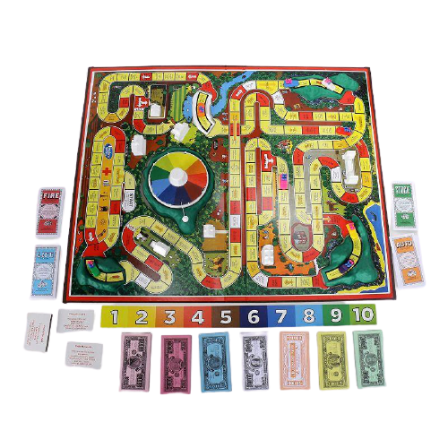 The Game of Life Board Game - www.entertainmentstore.in