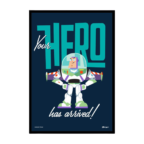 Toy Story Buzz Lightyear Framed Poster - www.entertainmentstore.in