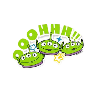Toy Story Pack of 4 Stickers - www.entertainmentstore.in