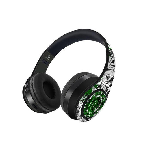 Hulk Fist Splash Out Decibel Wireless On Ear Headphone