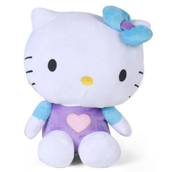 Hello Kitty Plush With Blue Bow