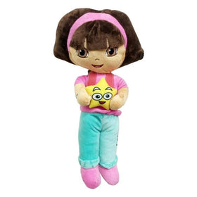 Dora With Star Pink And Blue Plush Toy
