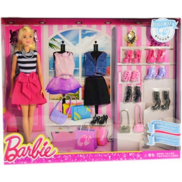 Barbie Fashions and Accessories Set
