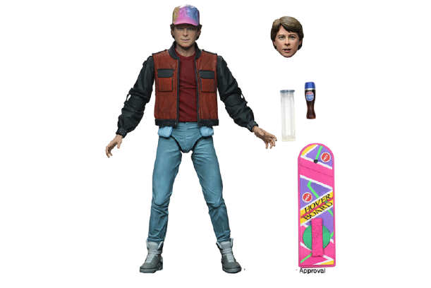 "Back To The Future 2 Marty McFly 7"" Scale Action Figure (Pre Order)"